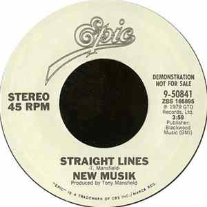 Download New Musik - Straight Lines