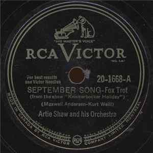 Download Artie Shaw And His Orchestra - September Song / Little Jazz