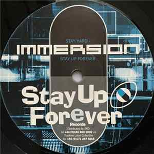 Download Immersion - Stay Hard - Stay Up Forever / Sausage Sandwich