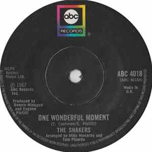 Download The Shakers - One Wonderful Moment / Love, Love, Love